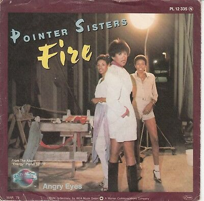 "7""-   Pointer Sisters = Angry Eyes / Fire (Bruce Springsteen-Coverversion)"