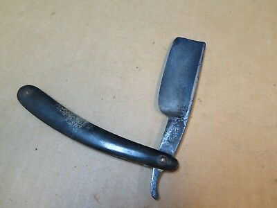 Great Brittan  large straight razor, marked G B  with Anchor,  chopper, massive
