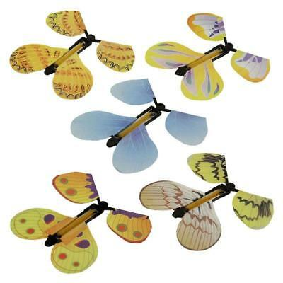 5PCS Transform Flying Butterfly Cocoon Into a Butterfly Trick Magic Toy Y2