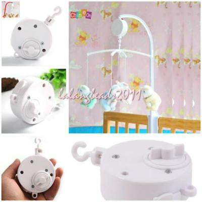 Mobile Music Box Holder Baby Crib Bed Bell Children Infants Toy Y2