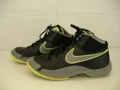 4b7cc10a684 MENS 12 M NIKE THE OVERPLAY VII 7 Black Grey Fluorescent Yellow 511372-005  Shoes - EUR 26