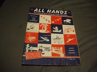 ALL HANDS NAVY/NAVAL/MILITARY Magazine - June 1967