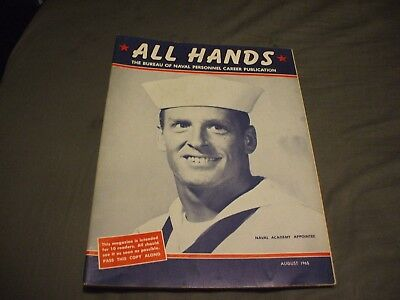 ALL HANDS NAVY/NAVAL/MILITARY Magazine - August 1965