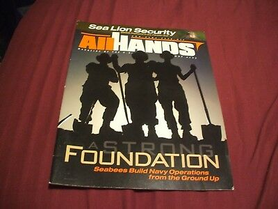 ALL HANDS NAVY/NAVAL/MILITARY Magazine - May  2003