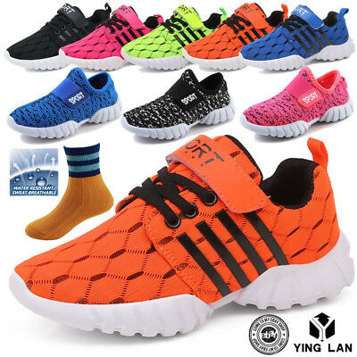 Boys Girls Sweet Sports Running Shoe Casual Breathable Sneaker Big Kids Shoes 11