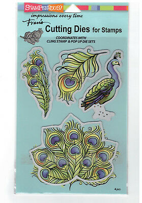 Stampendous Cutting Dies - Poised Peacock - Bird, Elegant