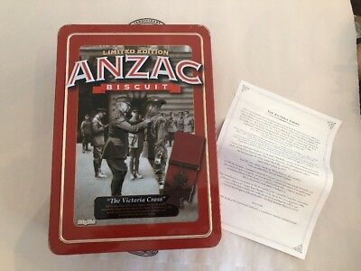 """ANZAC Biscuit Tin - 2013 """"The Victoria Cross"""""""