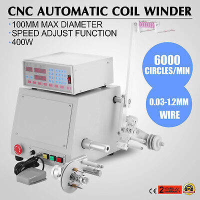 Automatic Coil Winder Step-Servo   Motor Cop Motor 6000 Circles/minute On Sale