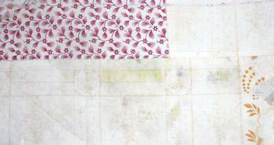 SUMMER CLEAROUT, c1830s FRAGMENT EARLY 19TH CENTURY FRENCH PATCHWORK 143.