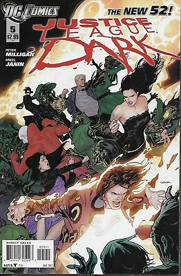 Justice League Dark No.5 / 2012 Peter Milligan & Mikel Janin / The New 52!
