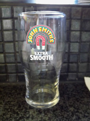 John Smiths Extra Smooth Bitter Ale Lager Beer Pint Glass