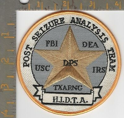 FBI DEA Texas DPS Highway Patrol Dept Public Safety Drug Seizure Narcotics Team