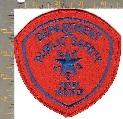 Novelty Texas DPS Highway Patrol Super Trooper Police Patch Dept Public Safety