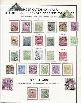Cape of Good Hope stamps Collection of 29 CLASSIC stamps HIGH VALUE!
