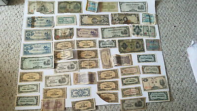 Lot of Vintage WWII Japanese Invasion Occupation Money