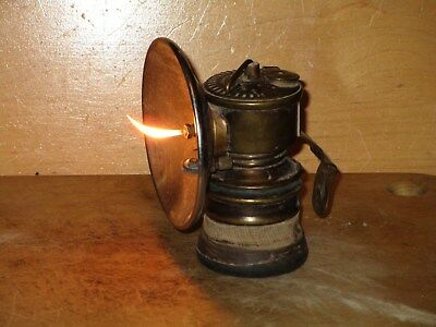 Miners/Cavers PREMIER CARBIDE LAMP -Working!