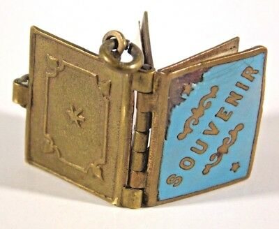 EARLY 1900s CAPE TOWN SOUTH AFRICA MINIATURE PHOTO SCENES SOUVENIR LOCKET CHARM
