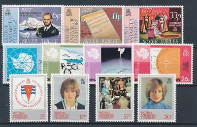 [77336] British Antarctic Territory good lot Very Fine MNH stamps