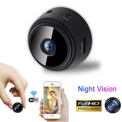 Spia Telecamera Micro IP Wifi Spy Camera Hd 1080P Mini Cam Detection Full Video