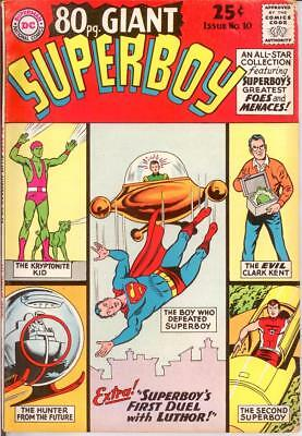 EIGHTY PAGE GIANT 10 VG-F May 1965 Superboy COMICS BOOK