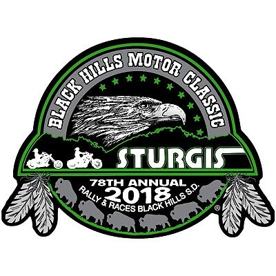 2018 STURGIS RALLY 78th Anniversary Eagle Sturgis BIKER PATCH