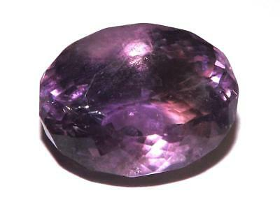 10.95 cts 100% Natural Earth Mined  Amethyst 16 x 12 mm Gemstone #eam2036