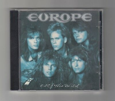 Europe - Out Of This World - 1988 - Epic - CD