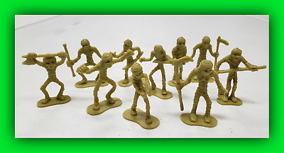 Dungeons and Dragons Mummy Warriors Army Figures Lot Set AD&D D&D 10 Figs!