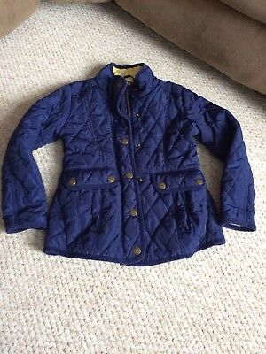 Girls NEXT Quilted Style Jacket 7-8 Years Excellent