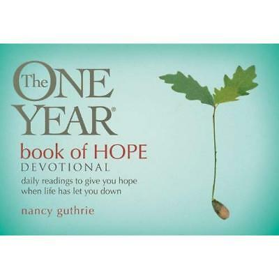 The One Year Book of Hope Devotional: Daily Readings to - Paperback NEW Guthrie,