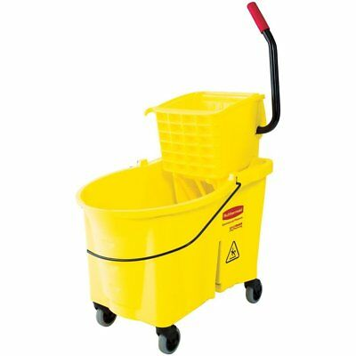 Rubbermaid Commercial WaveBrake Mopping System Bucket and Side-Press Wringer