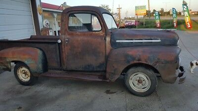 1951 Ford Other Pickups  1951 FORD HALF TON SHORT BOX PICKUP F 1