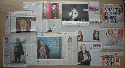 Hilary Mantel - clippings/cuttings/articles - Wolf Hall - Bringing Up The Bodies