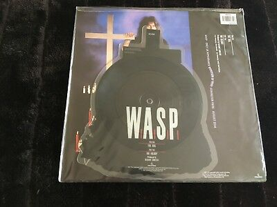 "WASP The Idol Limited 7"" shape Picture disc / Blackie Lawless"