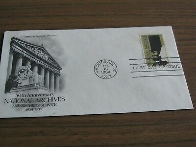 USA, FDC aus 1984, 50th Anniversary National Archives, Foto anschauen