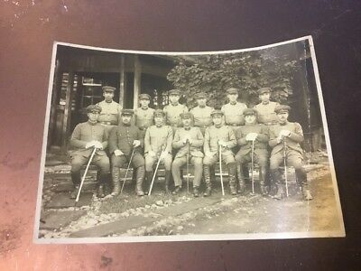 WWII ORIG PHOTO IMPERIAL JAPANESE ARMY,Calvary OFFICERS SWORD OFFICER SABERS