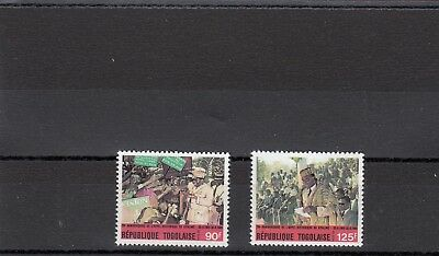 a117 - TOGO - SG2061-2062 MNH 1989 20th ANNIV KPALIME APPEAL