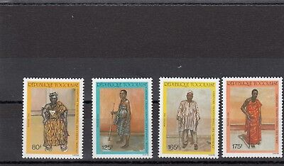 a117 - TOGO - SG1997-2000 MNH 1988 TRADITIONAL TRIBAL COSTUMES