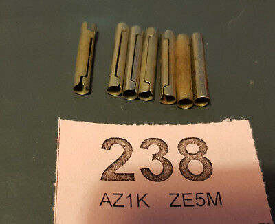7x Rod Connector part number 213 vintage meccano (2238)