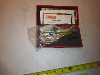 "NEW SPI 12-349-7 Mechanical Outside Micrometer 0""- 1"", .0001"" Grad - Free Ship"