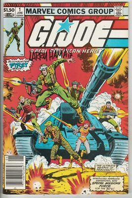 G.I. Joe signed # 1 Strict NM- 1st Issue, Cover Signed by Larry Hamma