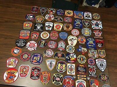 72  Fire Related Patches  Group B  This Is A Super Lot