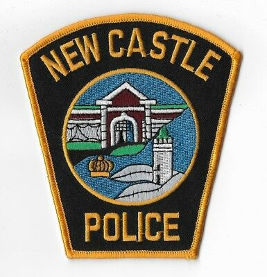 New Castle New Hampshire Police Patch LIGHTHOUSE