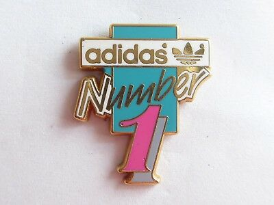 Pin's Arthus Bertrand , Adidas number one      - 6 -