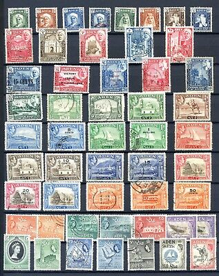 Collection of Aden stamps