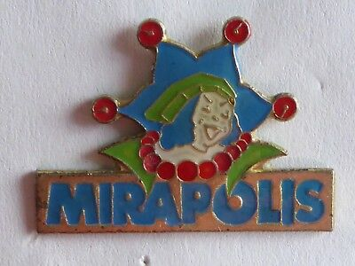 Pin's parc d'attraction Mirapolis ,      -- B  --                 - 30 -