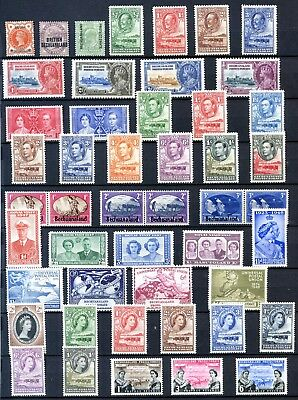 Collection of Bechuanaland stamps