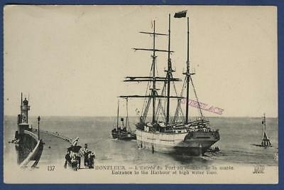 Sailing Ship Finnish Barquentine Laura Luvia Honfleur France Sail