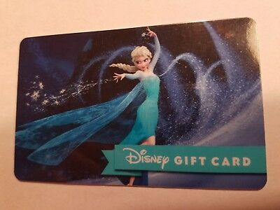 Disney Collectible Gift Card No Value Frozen Elsa Princess