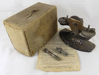 Vintage 'truepoint' Car Ignition Contact Grinding Tool, Boxed, Instructions